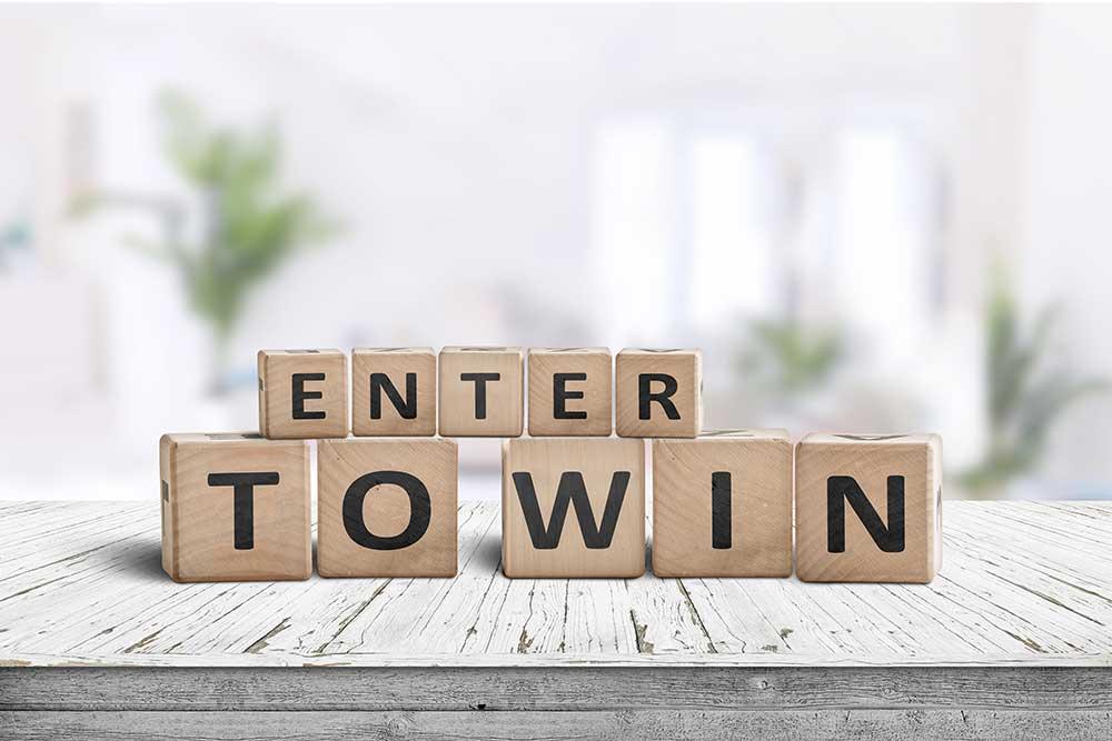 Enter to Win blocks
